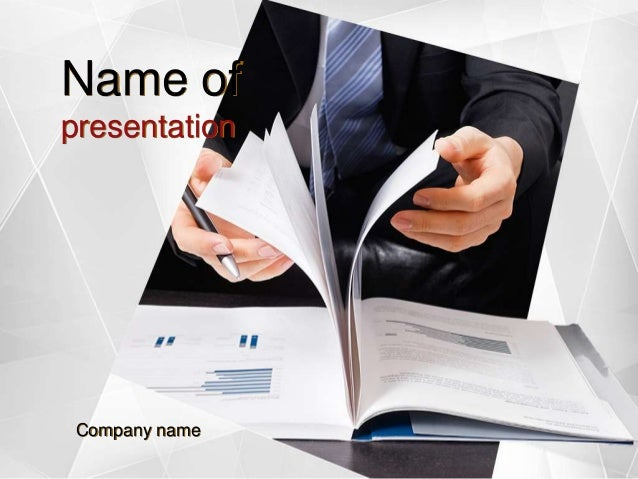Business report powerpoint template business report powerpoint template name of presentation company name toneelgroepblik Gallery