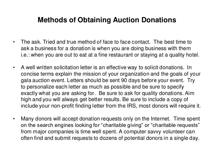 Obtaining quality auction items 11 methods of obtaining auction donations the ask thecheapjerseys Image collections