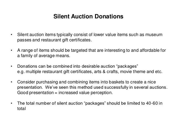 Obtaining quality auction items silent auction donations thecheapjerseys Image collections