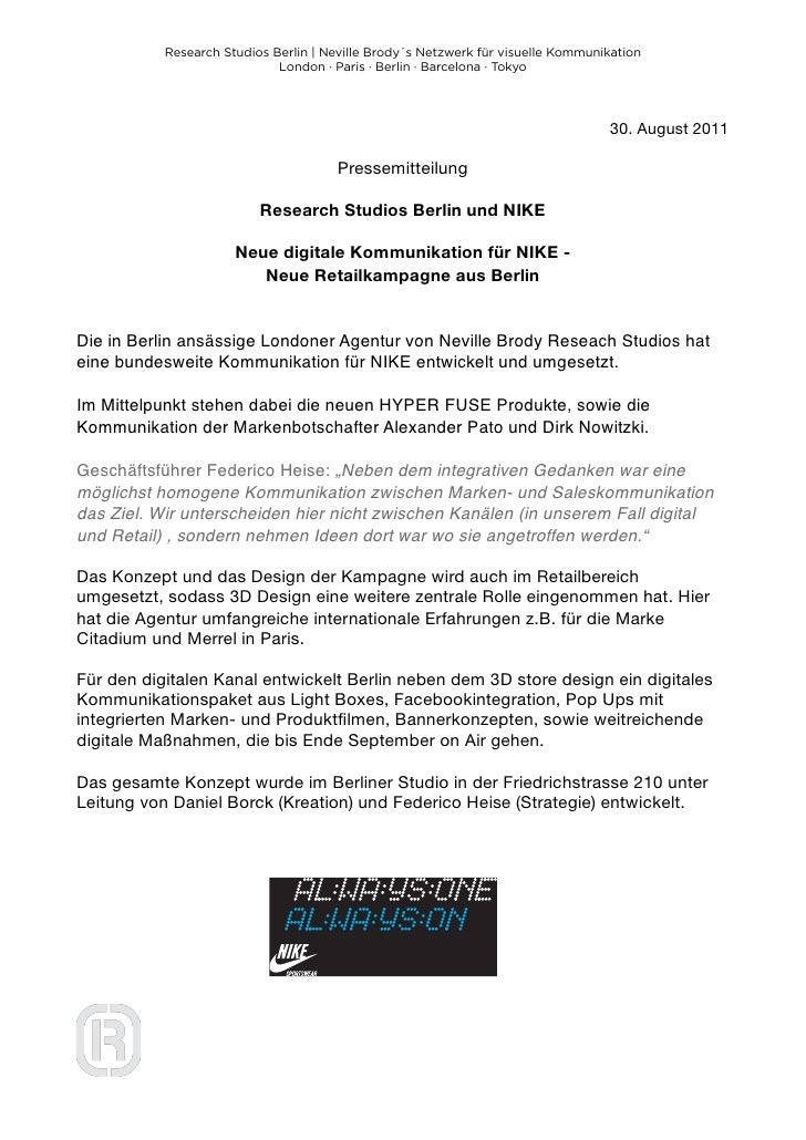 Research Studios Berlin   Neville Brody´s Netzwerk für visuelle Kommunikation                             London · Paris ·...