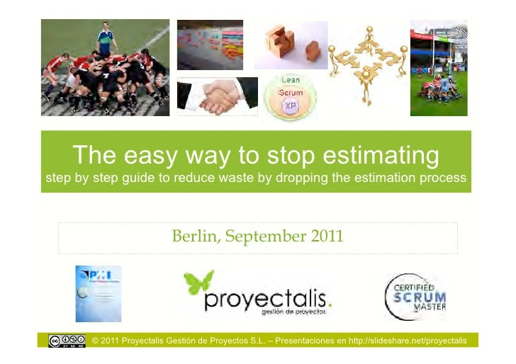 The easy way to stop estimatingstep by step guide to reduce waste by dropping the estimation process                      ...