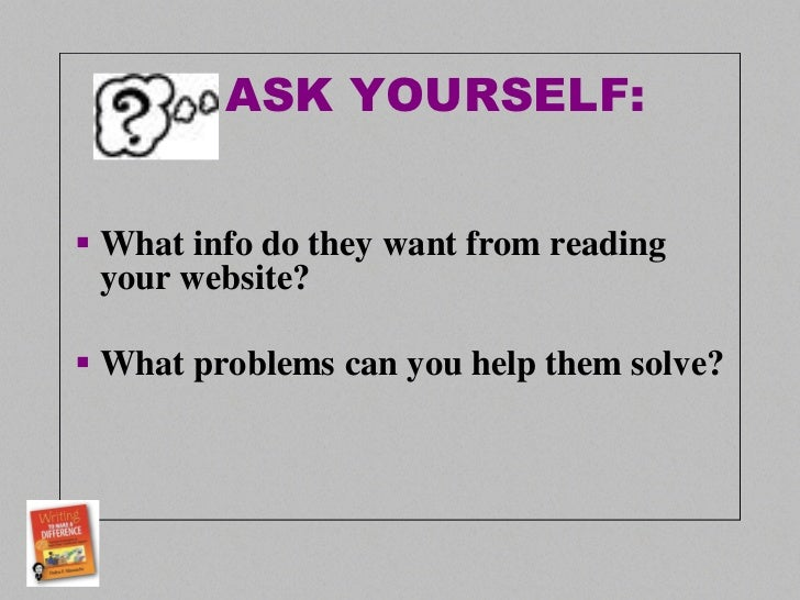 Readers react on web usability