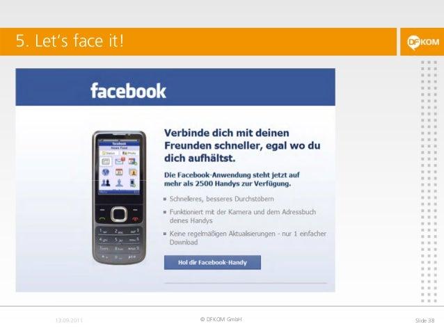 5. Let's face it! © DFKOM GmbH Slide 38