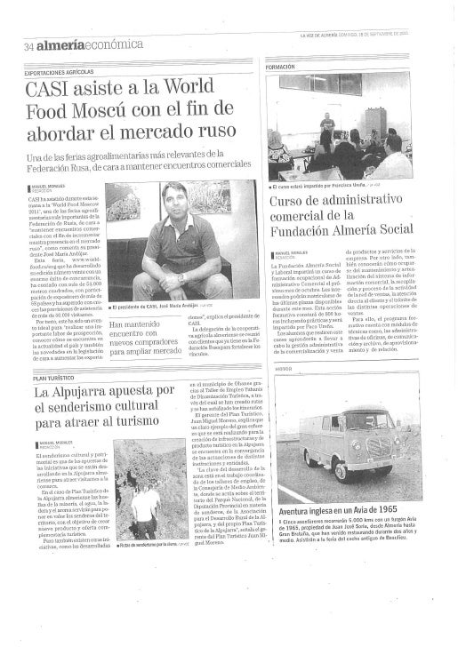 110918 inician las obras del plan un cuarto diario almeria rutas  faldon la voz de almeria