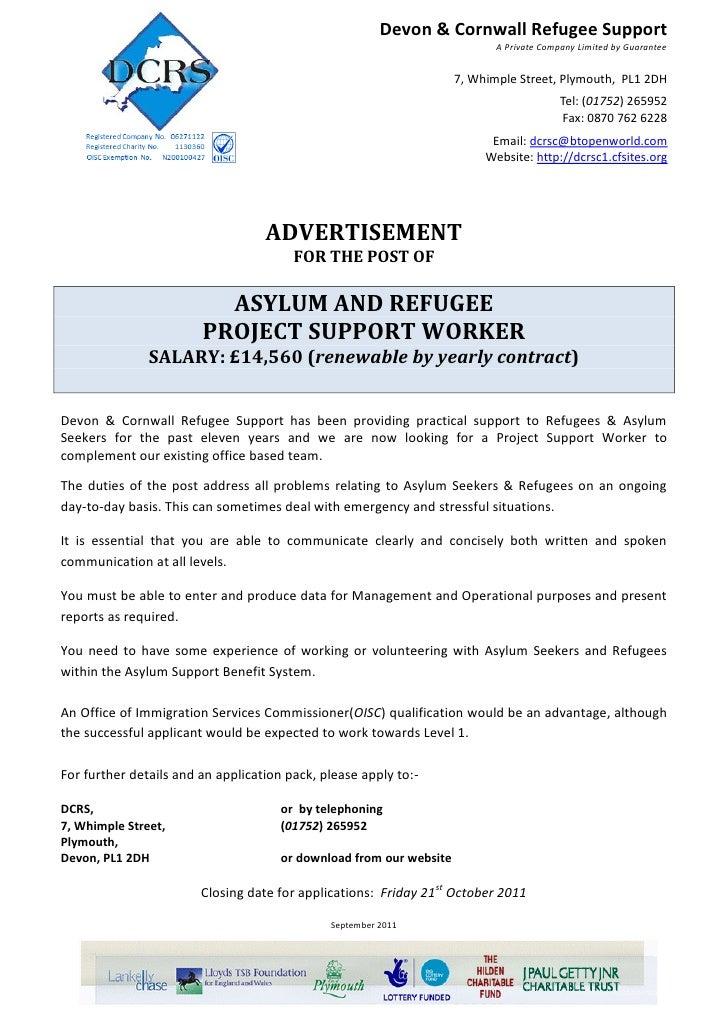 Devon & Cornwall Refugee Support                                                                            A Private Comp...