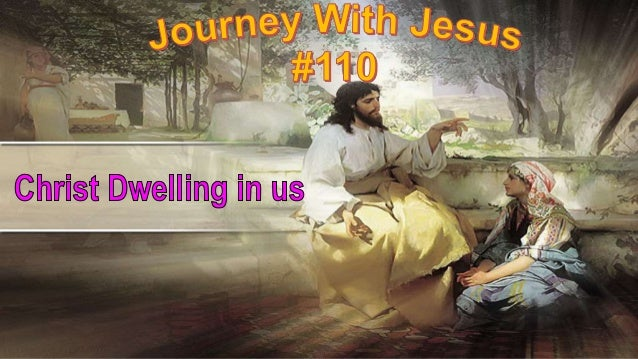 """""""Christ in us,"""" is our topic this morning. We find Jesus revealed He would dwell in us when He told of the coming of the H..."""