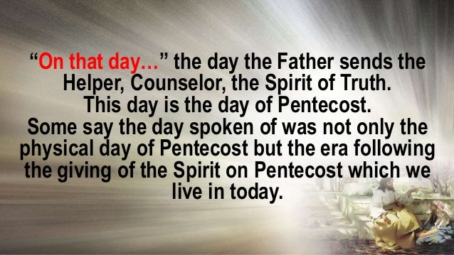 One of the reasons it is important for Christ to dwell in us is so the world could know the Father loves the Son and hence...