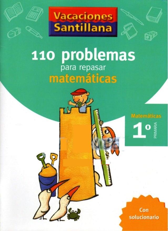 .. ,., _           11o problemas  para repasar           PRIMARIA  Con solucionario
