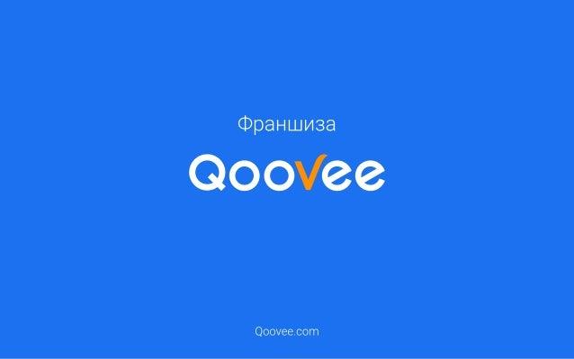 Презентация франшизы Qoovee