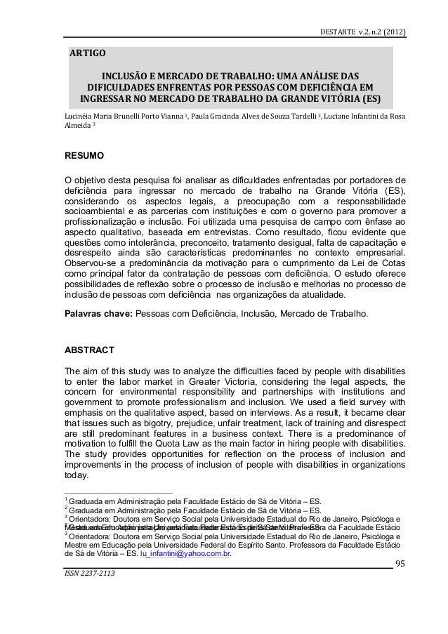 DESTARTE    v.2,  n.2  (2012)         ISSN  2237-‐2113            95   Lucinéia  Maria  Bru...