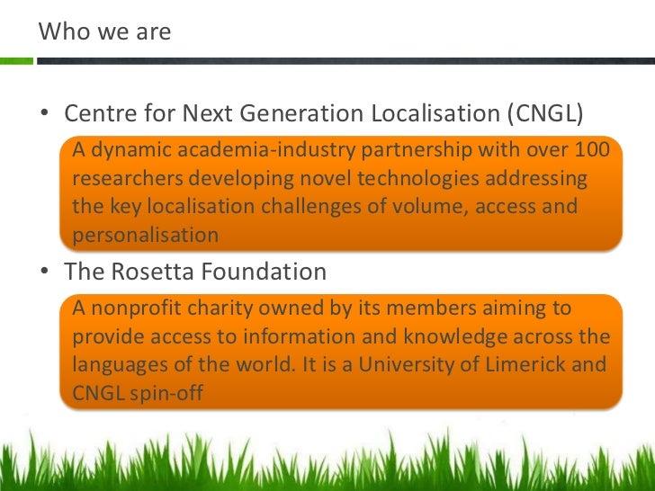 Social Localisation Slide 2