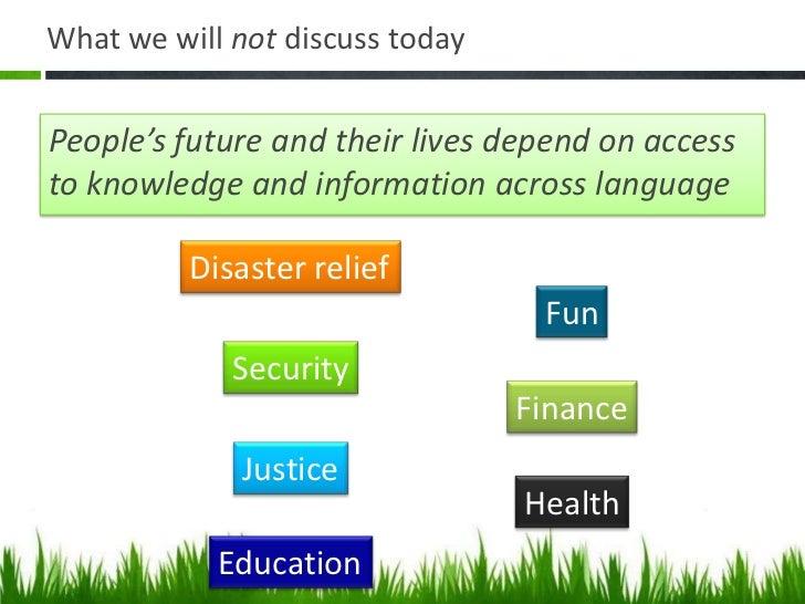 Social Localisation Slide 3