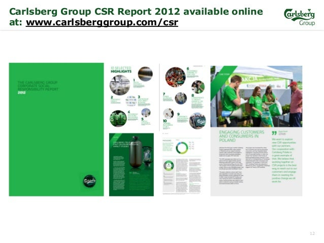 business overview of carlsberg Probably the best beer in the world in pursuit of better beer how we do it.