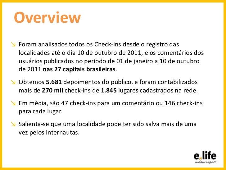 Geografia virtual - as lojas de Fast-Food mais movimentadas do Brasil - Foursquare Slide 2