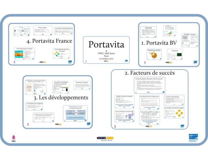 """2011-10-21 ASIP Santé Conférence Télémédecine """"PORTAVITA - Digital Logbook"""""""