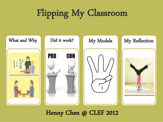 Flipping My ClassroomWhat and Why    Did it work?   My Models   My Reflection               Henny Chen @ CLEF 2012