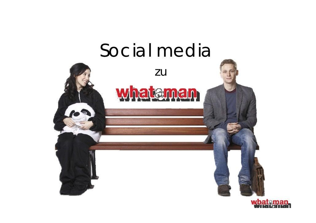 Social media     zu
