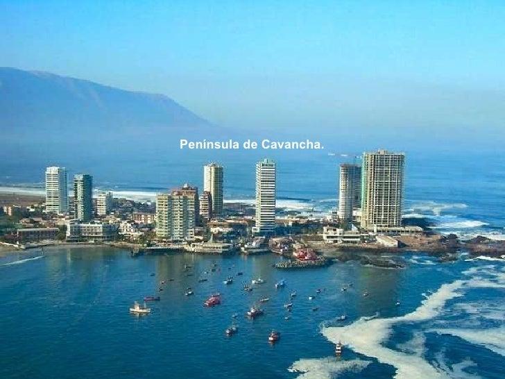 Península de Cavancha.