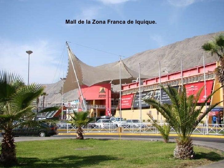 Mall de la Zona Franca de Iquique.