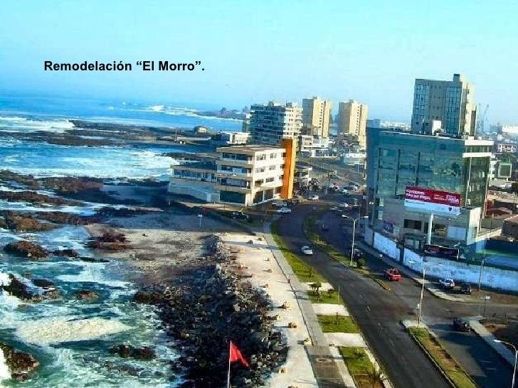 """Remodelación """"El Morro""""."""