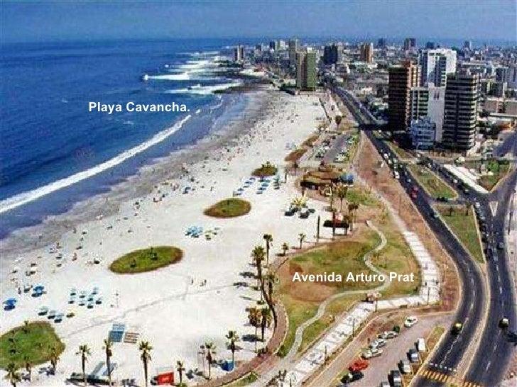 Avenida Arturo Prat Playa Cavancha.