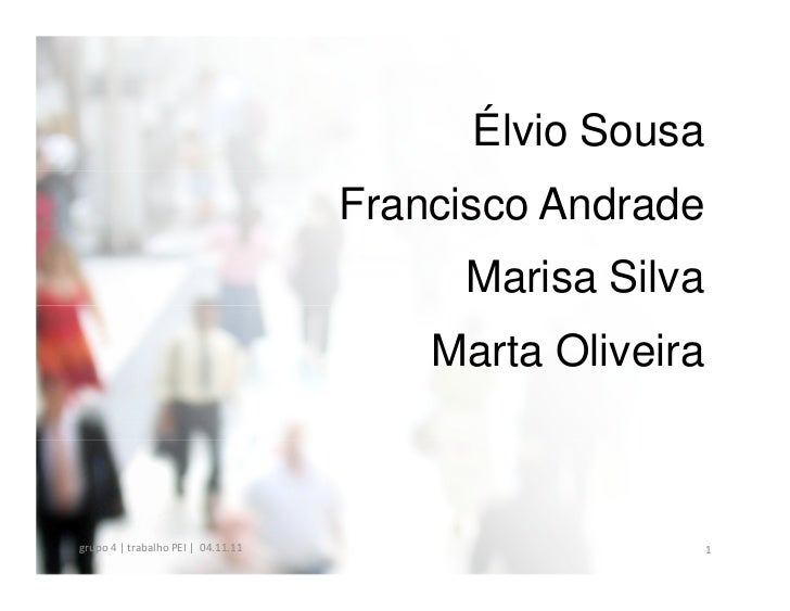 Élvio Sousa                                    Francisco Andrade                                         Marisa Silva     ...