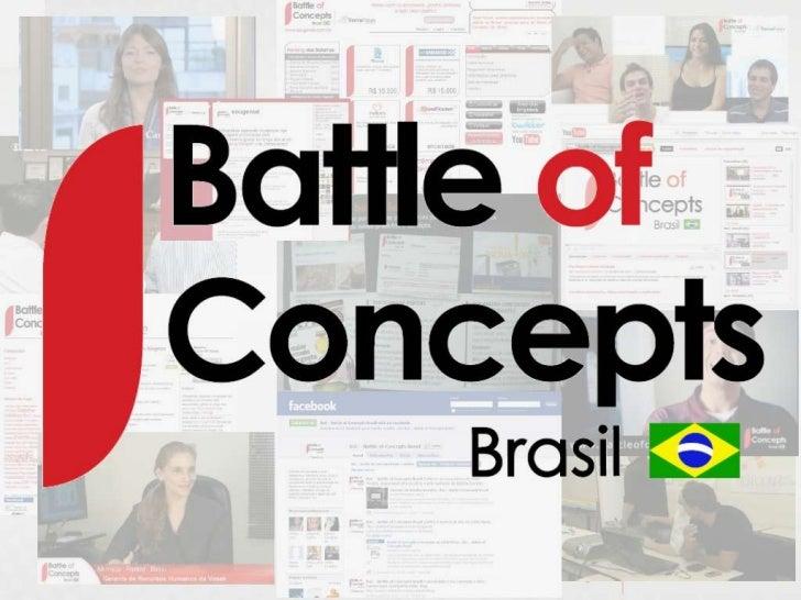 Gerando resultados com a                                          Inovação Aberta• O que é:Portal virtual (www.battleofcon...