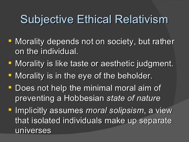 ethical relativism examples