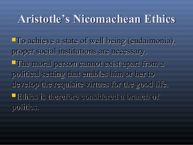 The Nicomachean Ethics Quotes