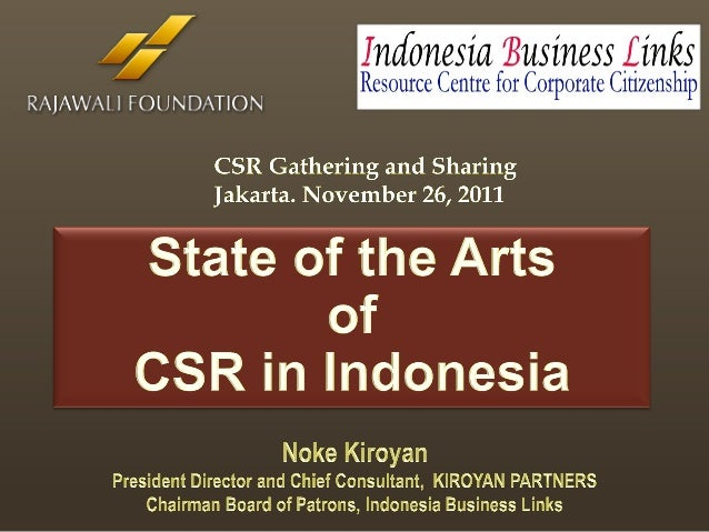NOKE KIROYAN – President Director & Chief Consultant,                                                                     ...