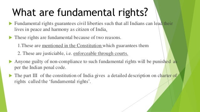 fundamental duties and rights fundamental rights