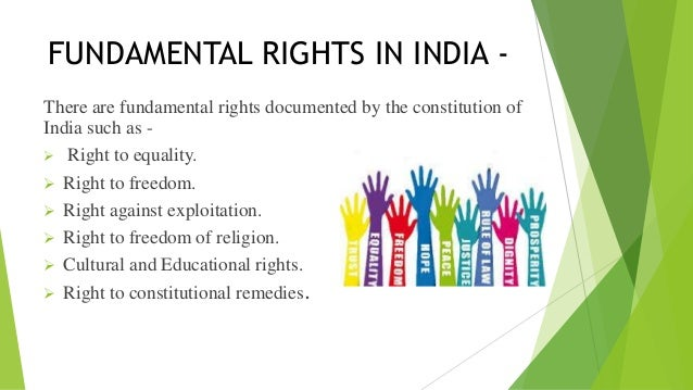 fundemental rights of india