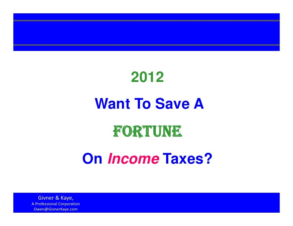 2012                              Want To Save A                                FORTUNE                             On Inc...