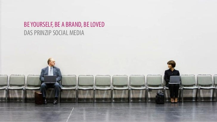 BE YOURSELF, BE A BRAND, BE LOVEDDAS PRINZIP SOCIAL MEDIA
