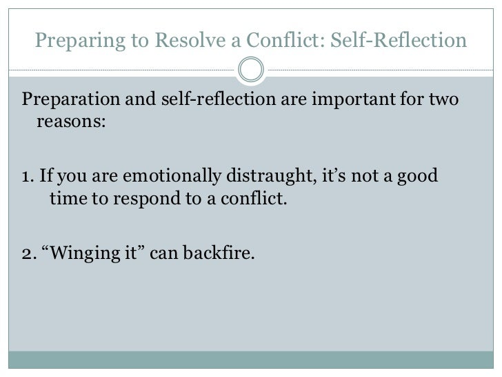 How to Resolve Conflict – Developing Positive Outcomes