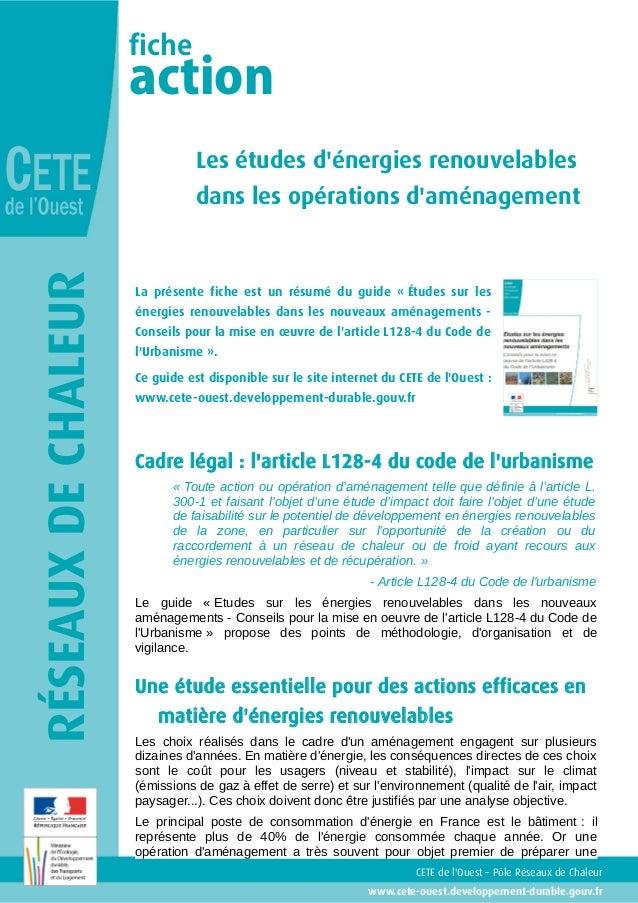 fiche                     action                                Les études dénergies renouvelables                        ...