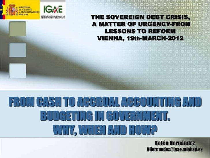 THE SOVEREIGN DEBT CRISIS,              A MATTER OF URGENCY-FROM                 LESSONS TO REFORM               VIENNA, 1...
