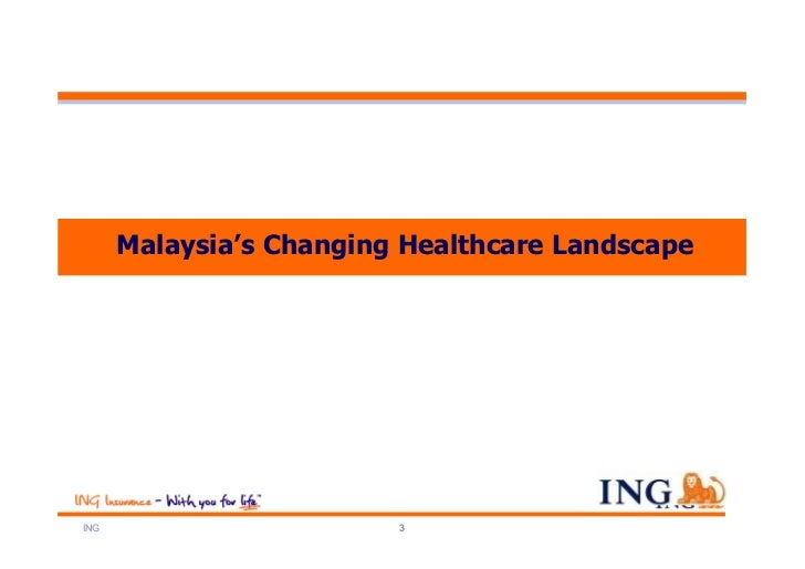 Malaysia's Changing Healthcare LandscapeING                      3