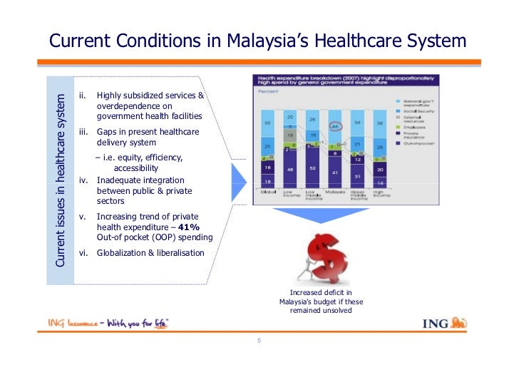 Current Conditions in Malaysia's Healthcare System                                      ii.    Highly subsidized services ...