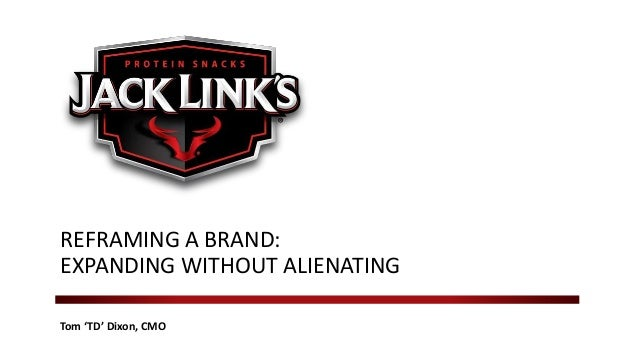 Tom 'TD' Dixon, CMO REFRAMING A BRAND: EXPANDING WITHOUT ALIENATING