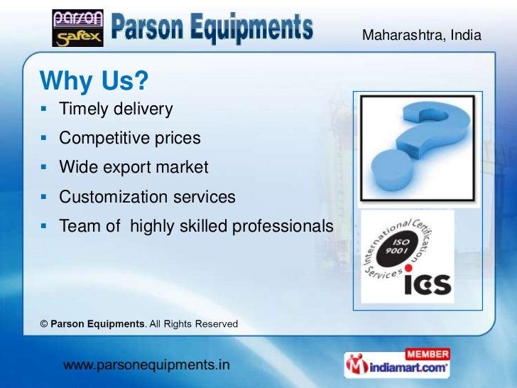 Material Handling Equipment by Parson Equipments, Mumbai  Slide 3