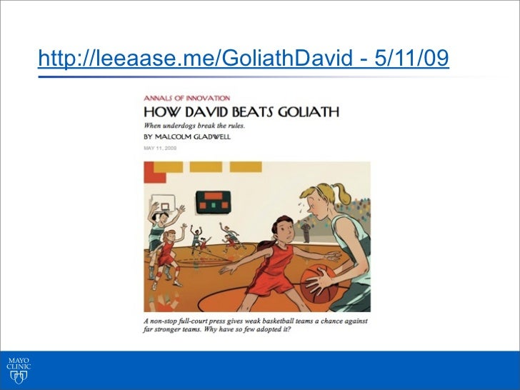 http://leeaase.me/GoliathDavid - 5/11/09