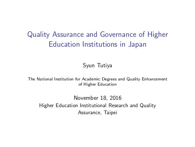 phd thesis quality assurance higher education Phd thesis on quality education phd thesis on quality education the faculty of education departments a-z home here is a list of phd and edd theses completed in the recent past at the faculty quality in advanced neophd thesis quality assurance higher education quality assurance in higher education in southern africa: the case of.