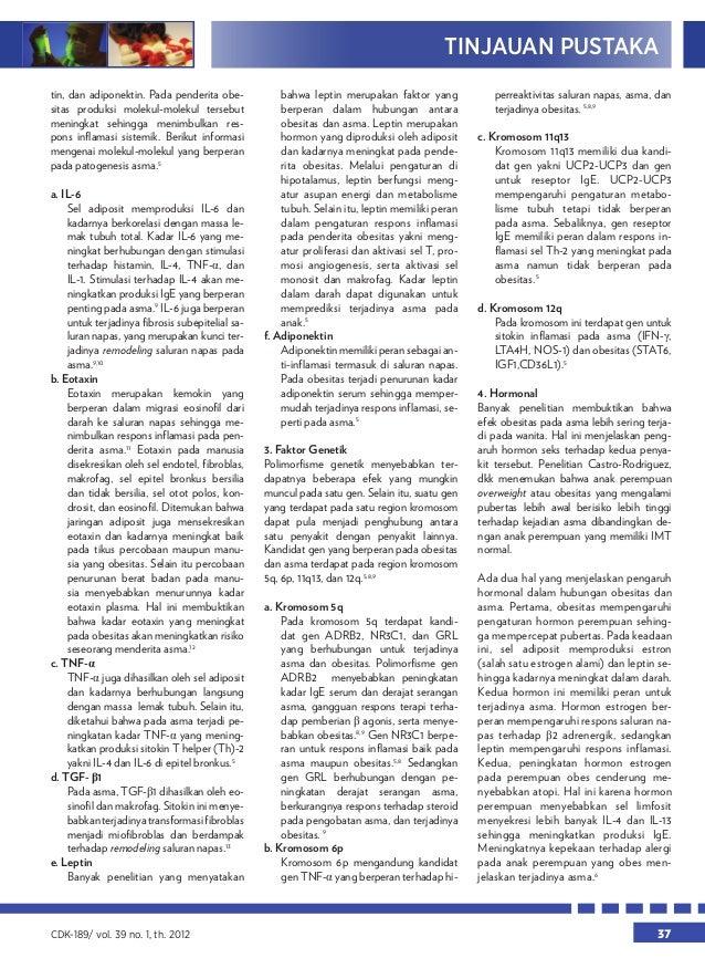 obesitas dan asma - Kalbe