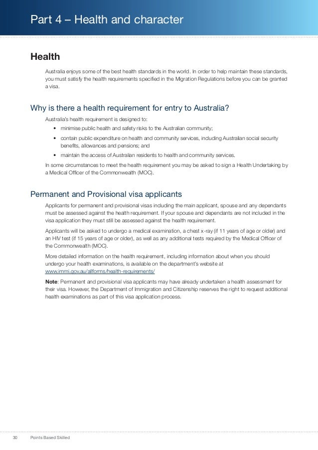 Australia PR Information