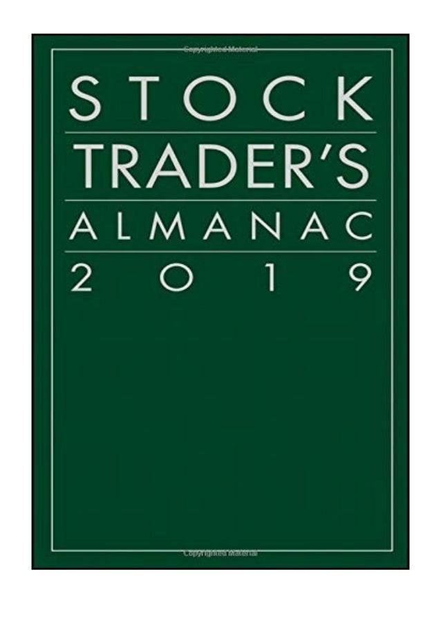 Stock Traders Almanac 2019