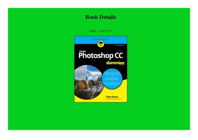Read Book Adobe Photoshop Cc For Dummies For Dummies Computertec