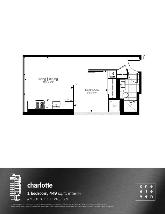 "bedroom 8'8"" x 10'7"" living 