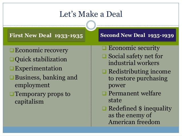 extent new deal responsible recovery american economy The new deal represented -- excluding the policies associated with the struggle against slavery -- the greatest expansion in the federal government's role in the nation's history franklin.