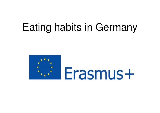 Eating habits in Germany